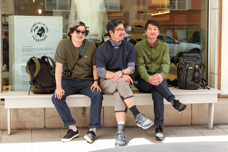 The Bench - Hiroshi Kawamura, Atsu Sawada & Takuya Tabuchi