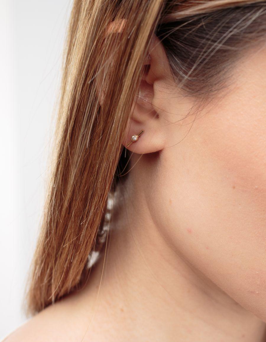 Quarry Jewelry Hydra Stud Diamond Earring