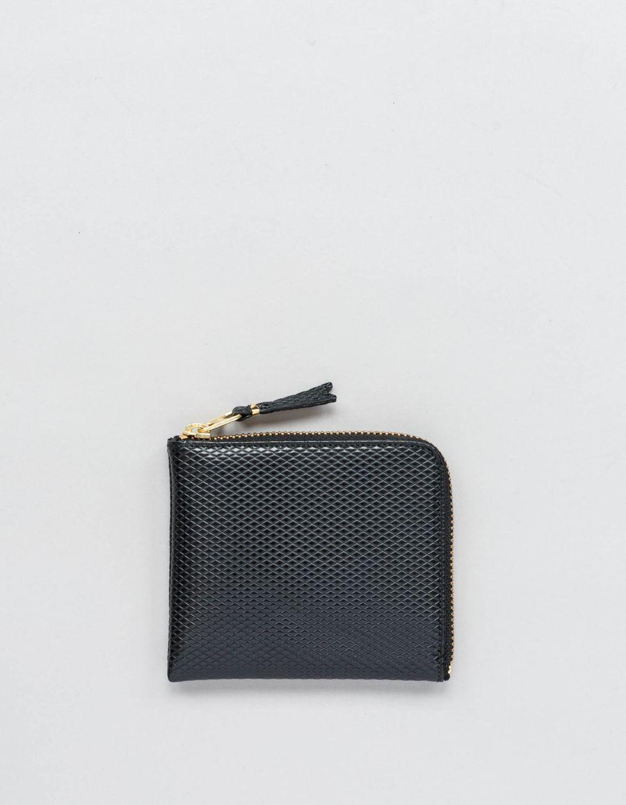 Comme des Garçons Wallet Half Zip Wallet - Luxury