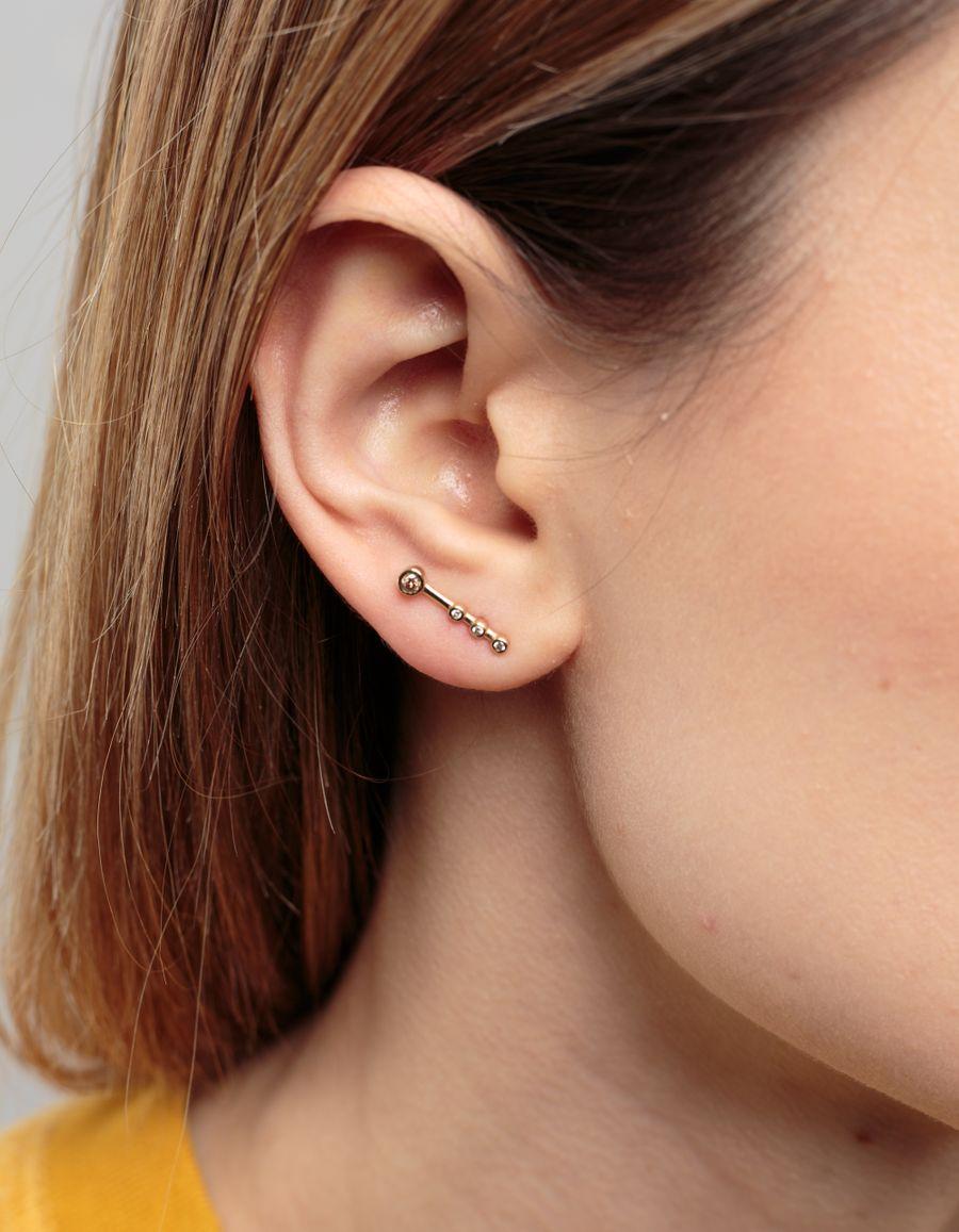Quarry Jewelry Ache Diamond Stud Earring