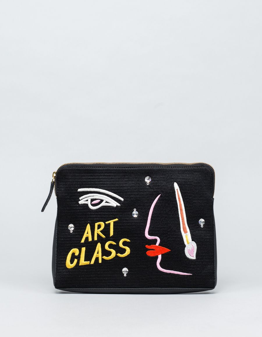 Lizzie Fortunato Art Class Safari Clutch