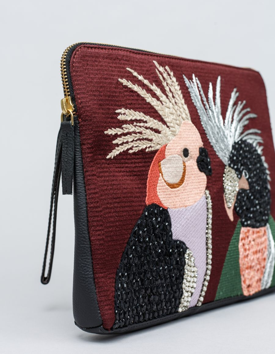 Lizzie Fortunato - Lovebirds Safari Clutch