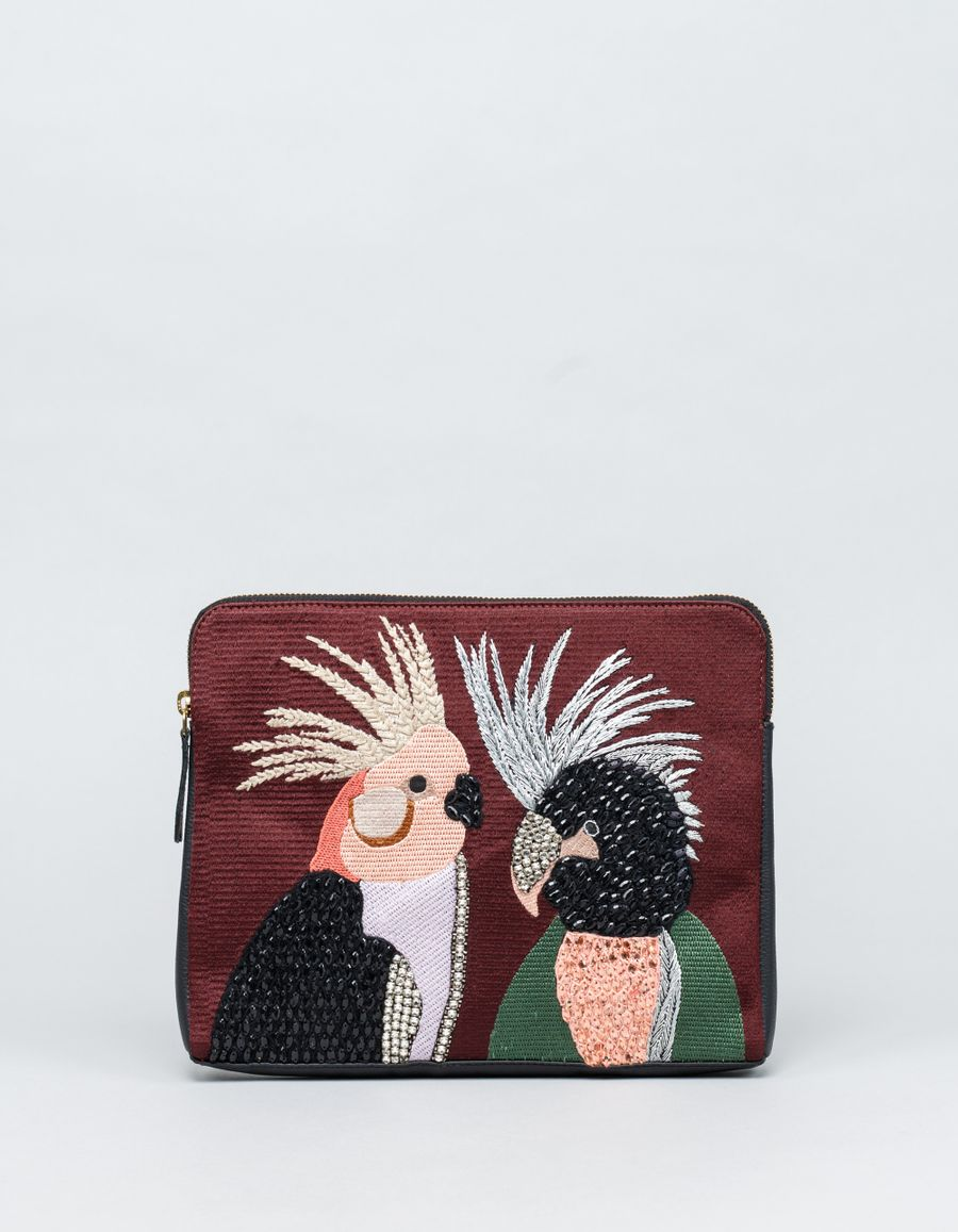 Lizzie Fortunato Lovebirds Safari Clutch