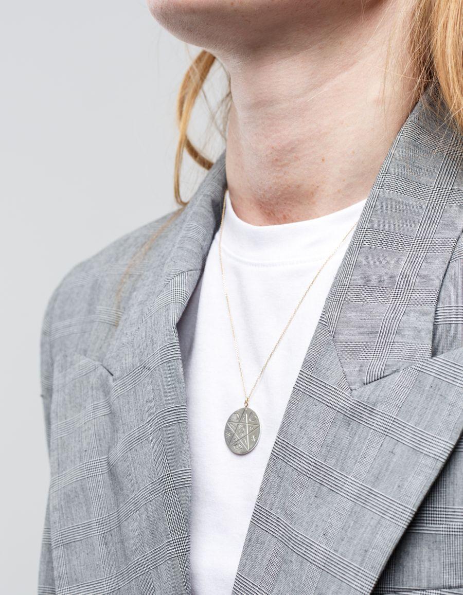 Laura Lee Reversible Luna Coin Necklace