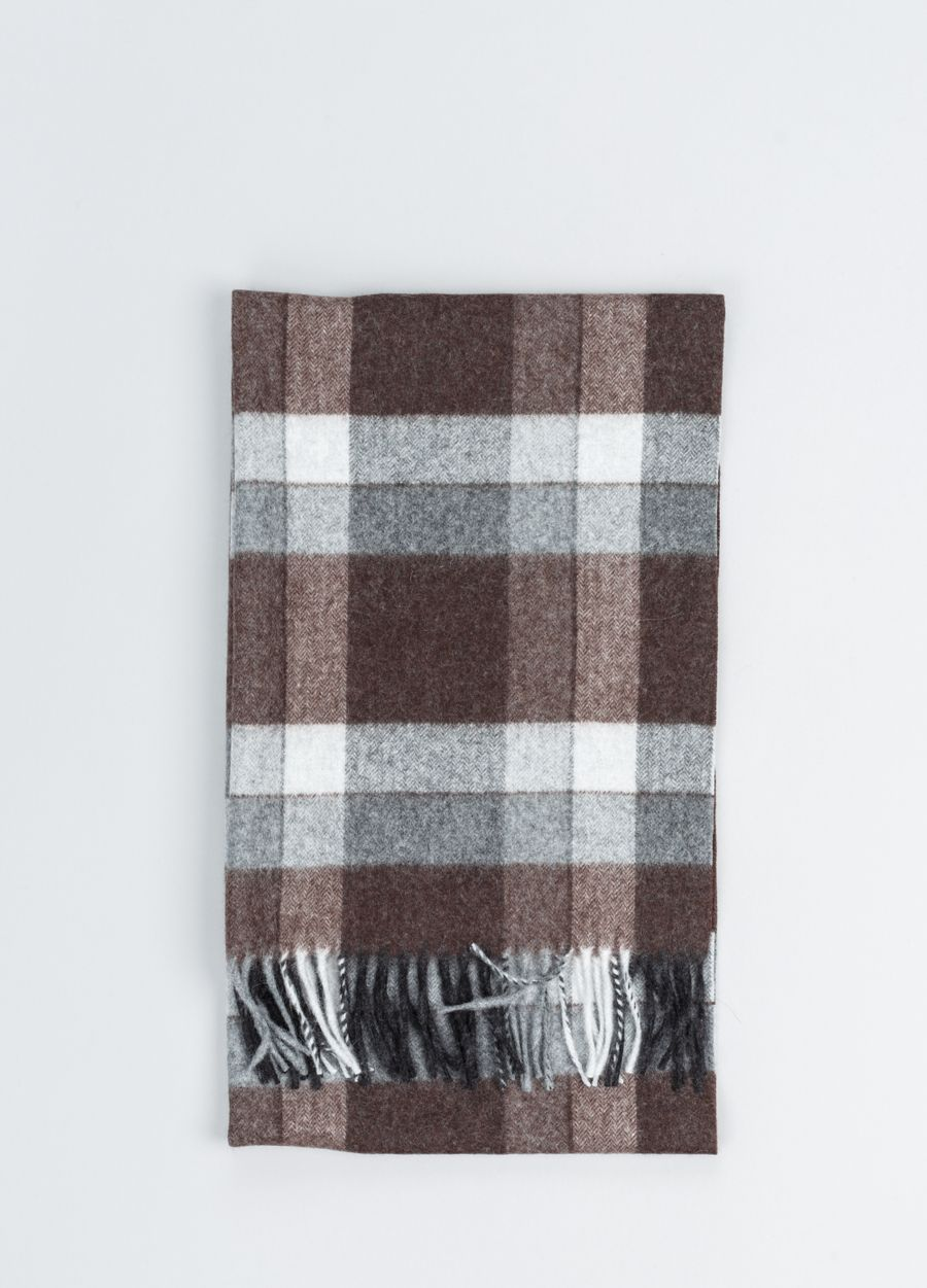 Begg & Co - Orwell Portman Check Scarf