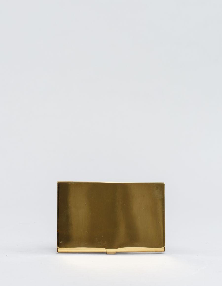 Rinouma Brass Card Case