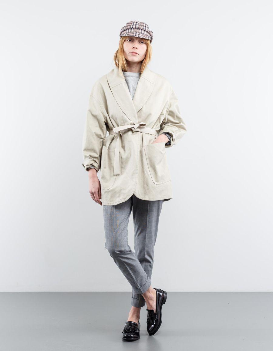 Isabel Marant Étoile Ilona Cotton/Linen Blend Coat