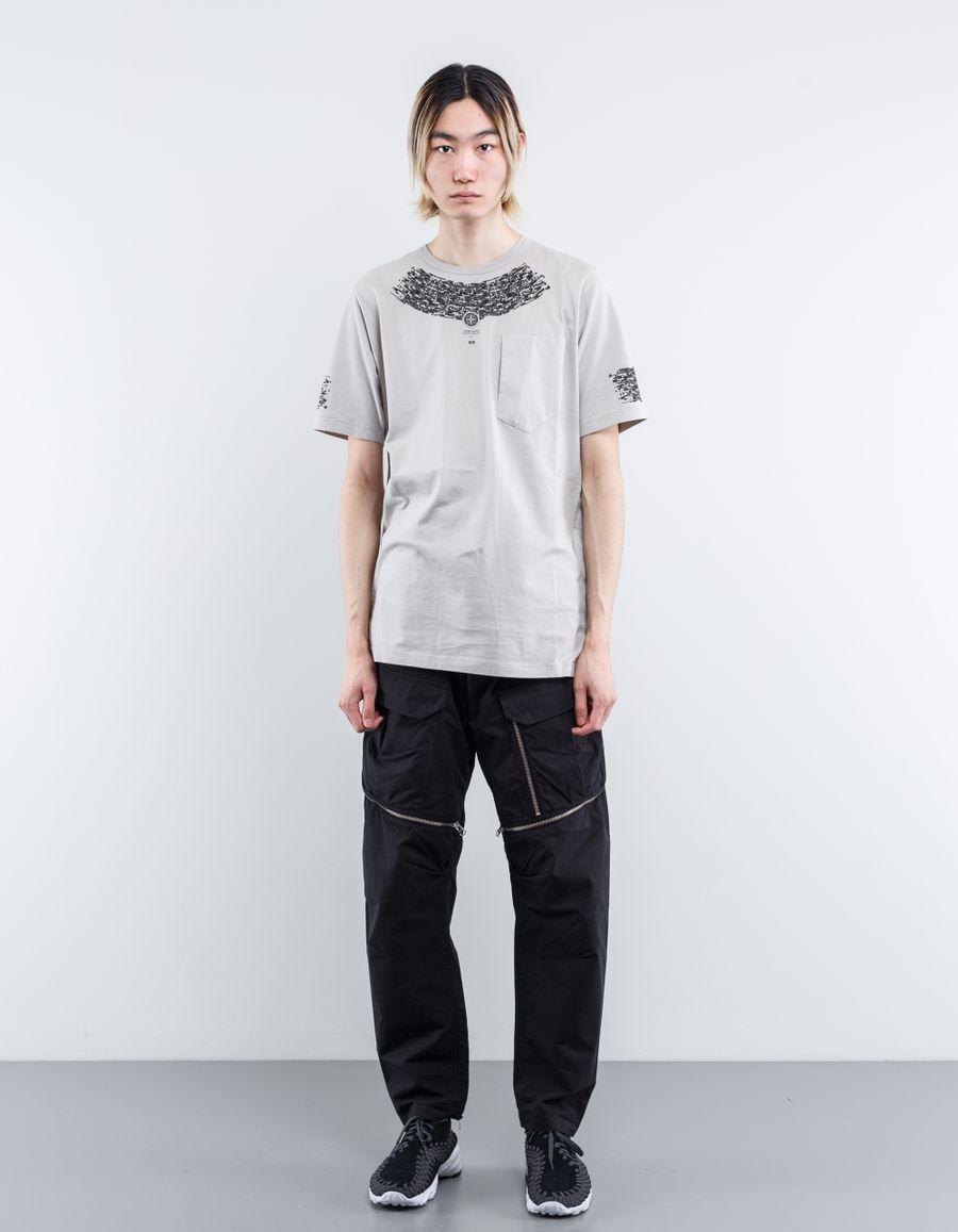 Stone Island Shadow Project 661920410 - Long Print T-Shirt