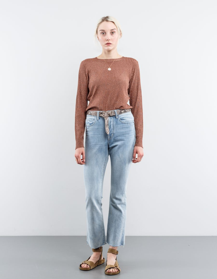 A.P.C. Lully Glitter Knit Top