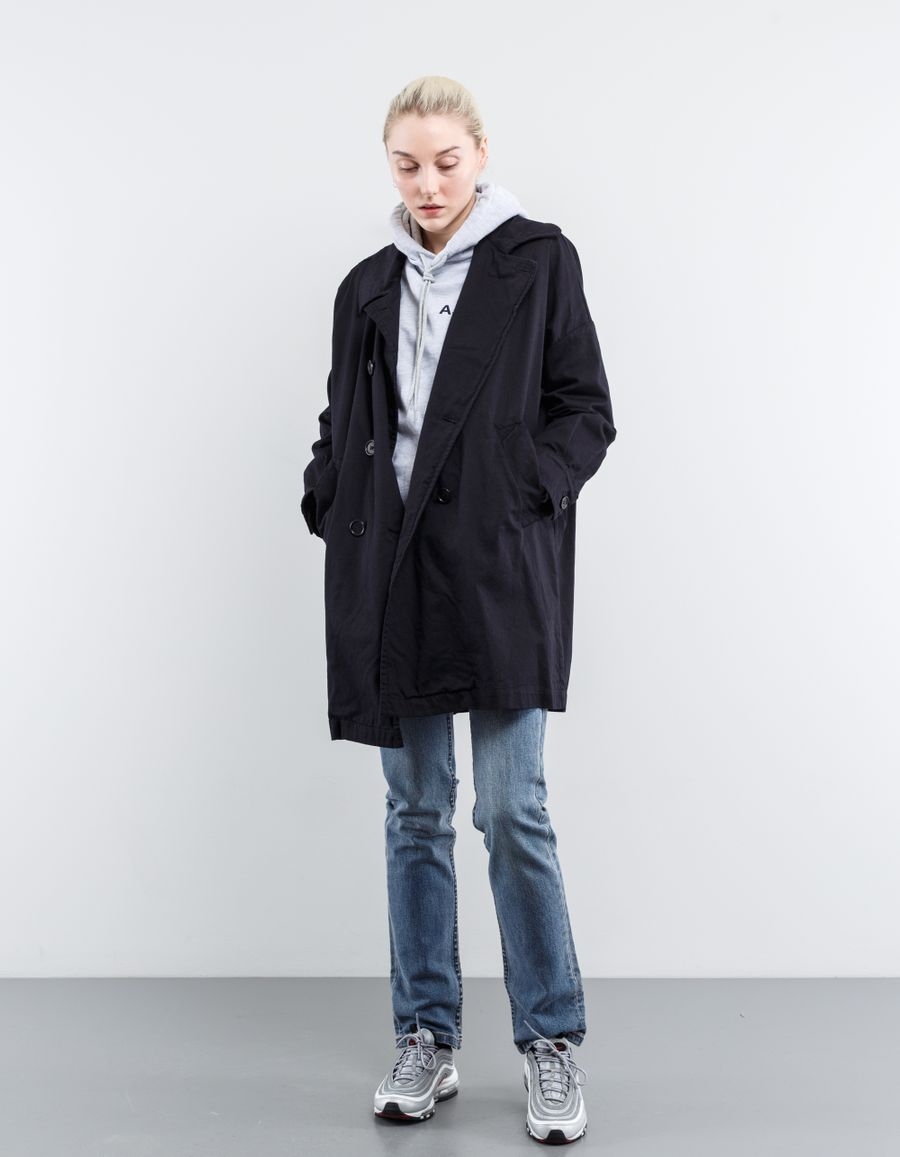 Aspesi Wide Fit Double Breasted Coat