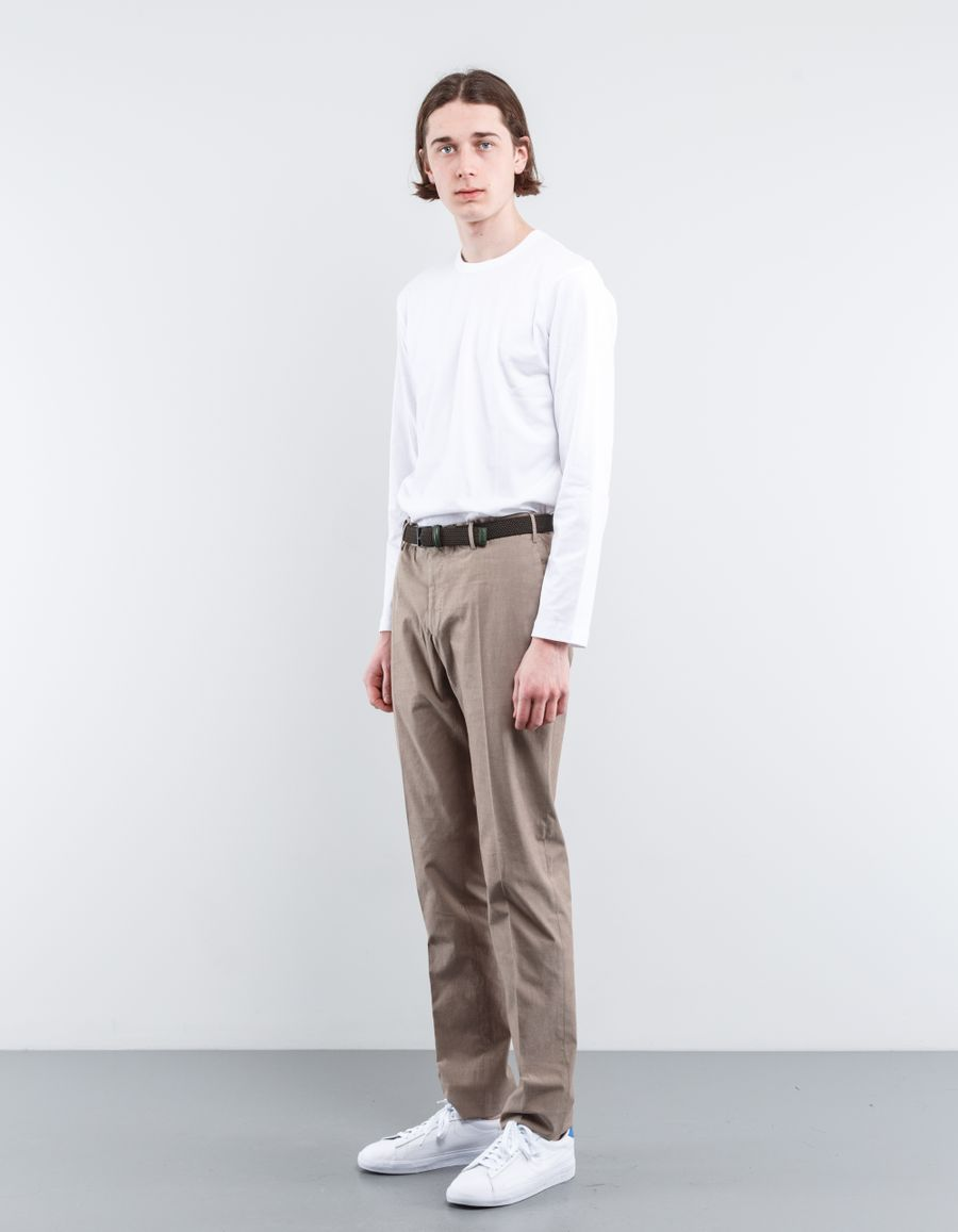 Incotex HC Chambray Slim Fit Pant