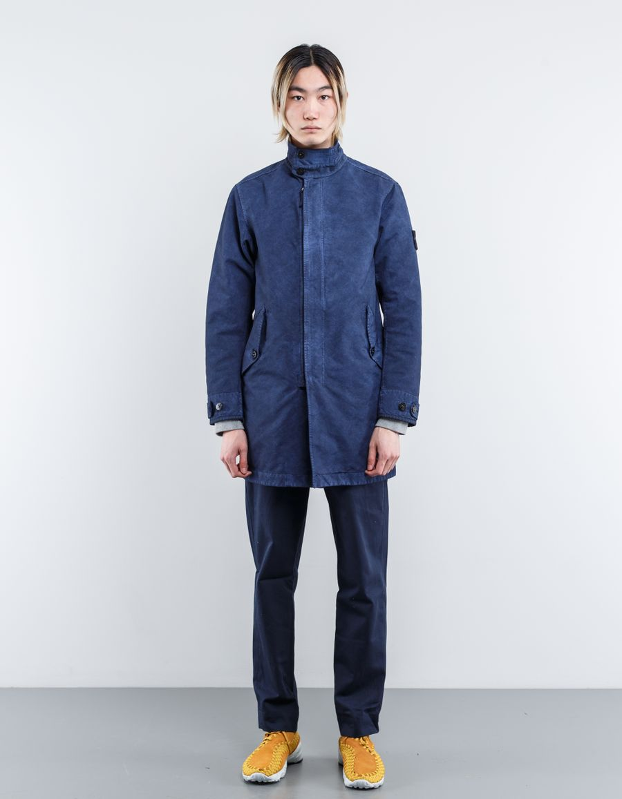 Stone Island 661570550 - David-TC Col. Treatment Coat