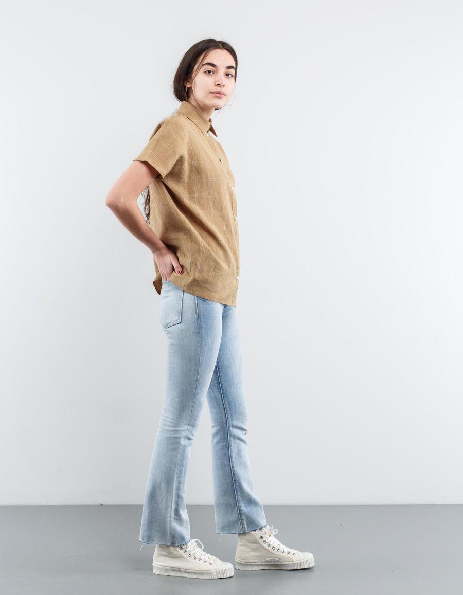 Dušan Short Sleeved Linen Shirt