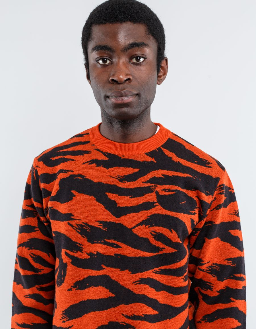 WTAPS - Camo Deck Crew Sweatshirt