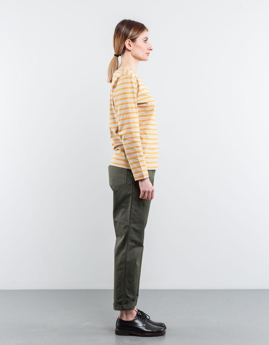 Margaret Howell - MHL L/S Matelot Naval Stripe Top