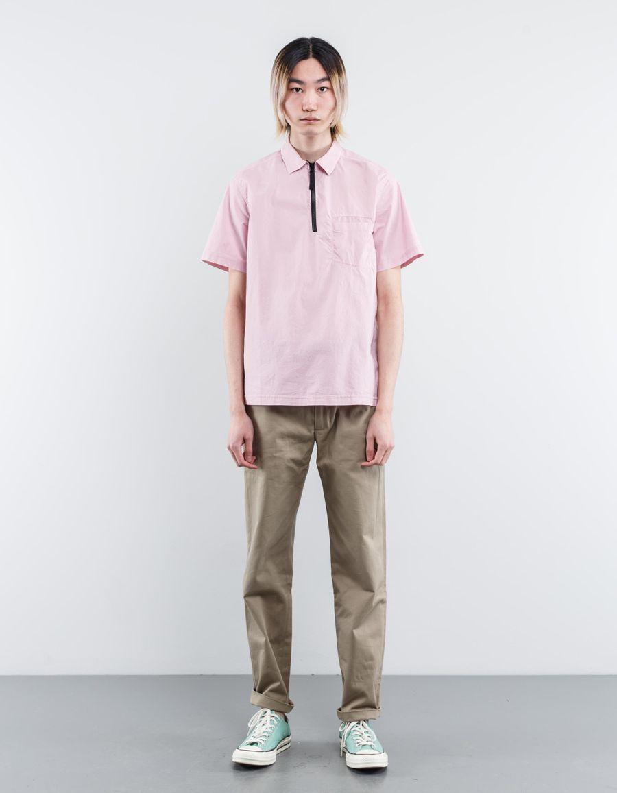 Stone Island 661511203 - S/S Popover Zip Shirt