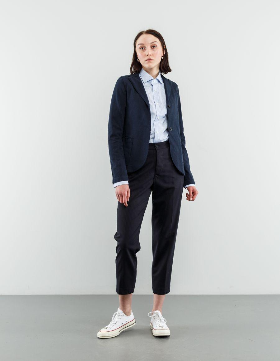 Harris Wharf London Short Washed Cotton Jacket