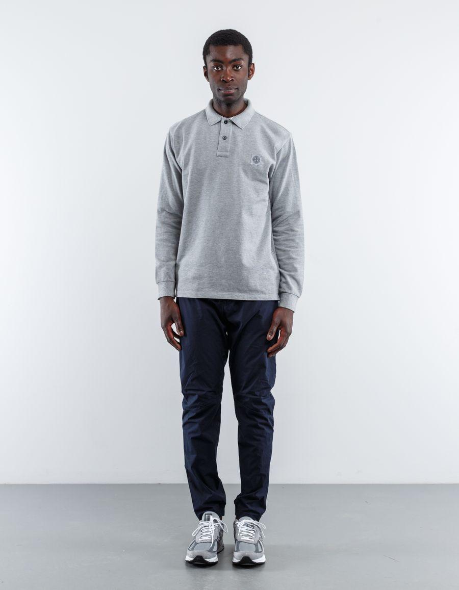 Stone Island 66152CC15 - L/S Regular Pique Polo Shirt