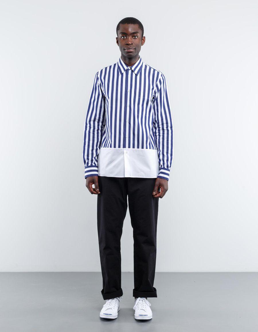 Marni Split Stripe Poplin Shirt