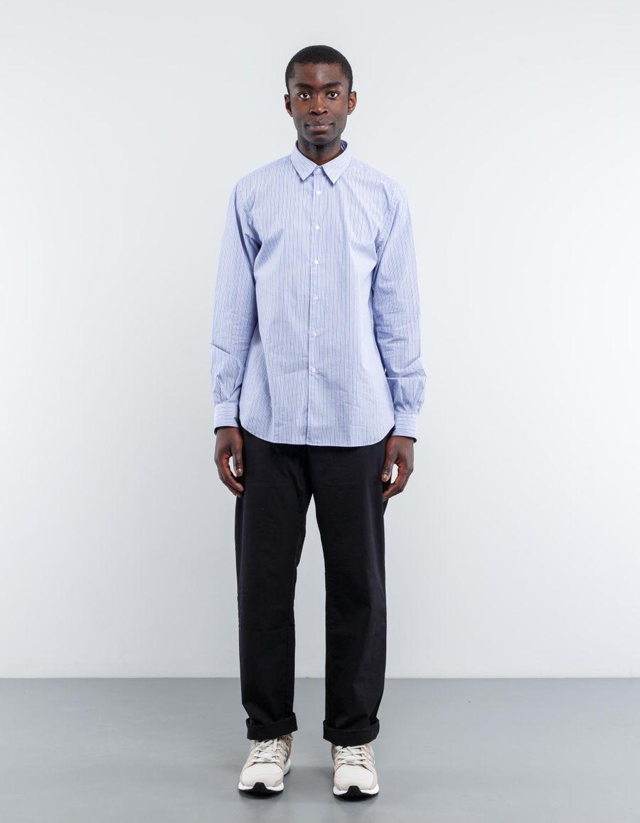 Aspesi Comma Stripe Poplin Shirt