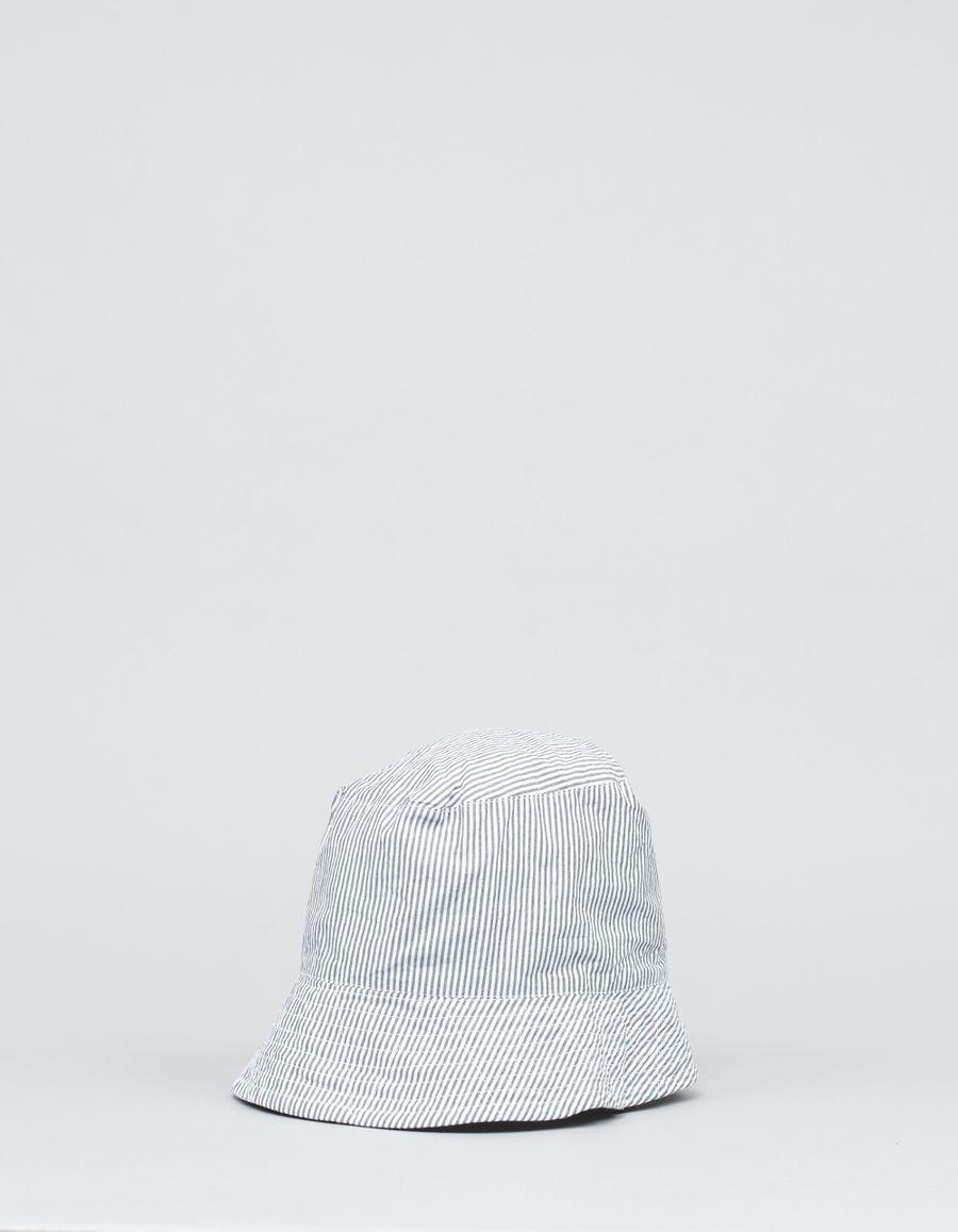 Engineered Garments  Seersucker Stripe Bucket Hat