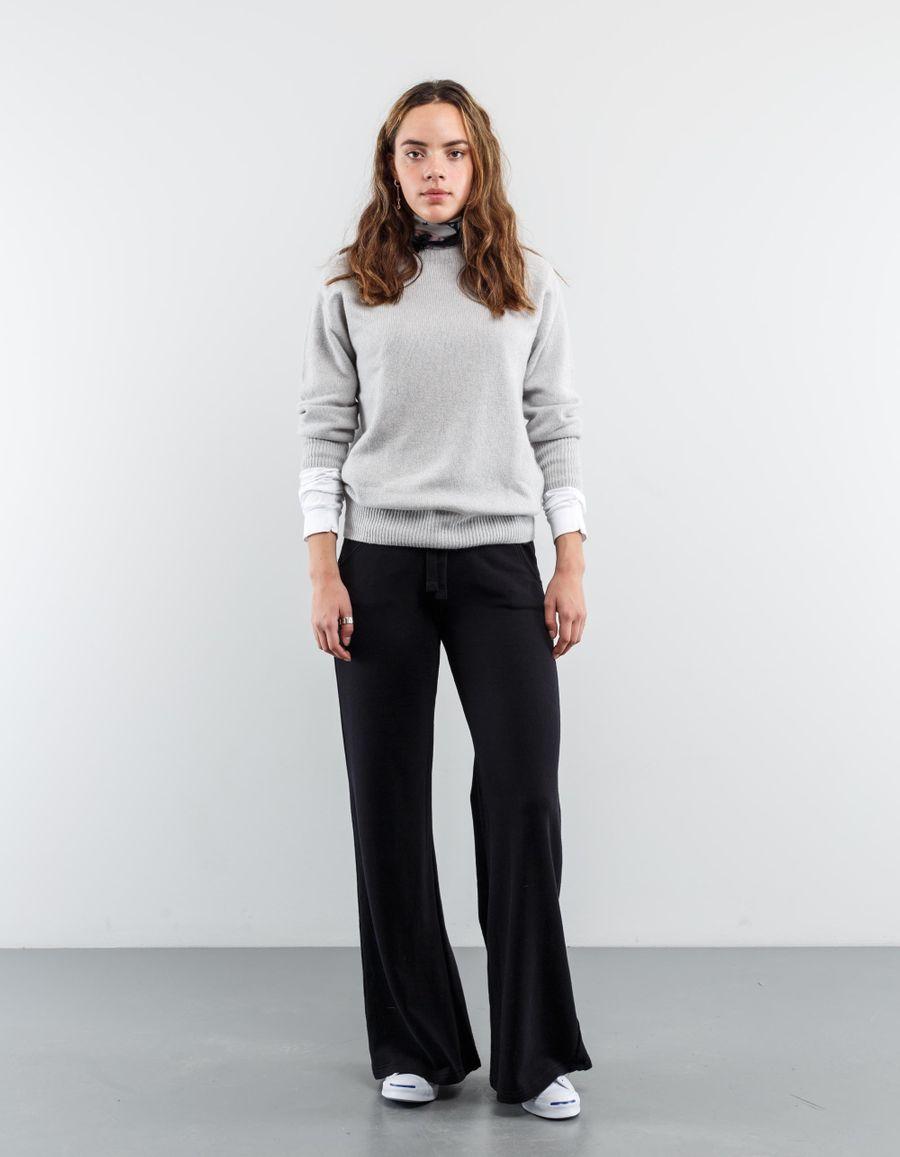 Aspesi Flare Jersey Easywear Trouser