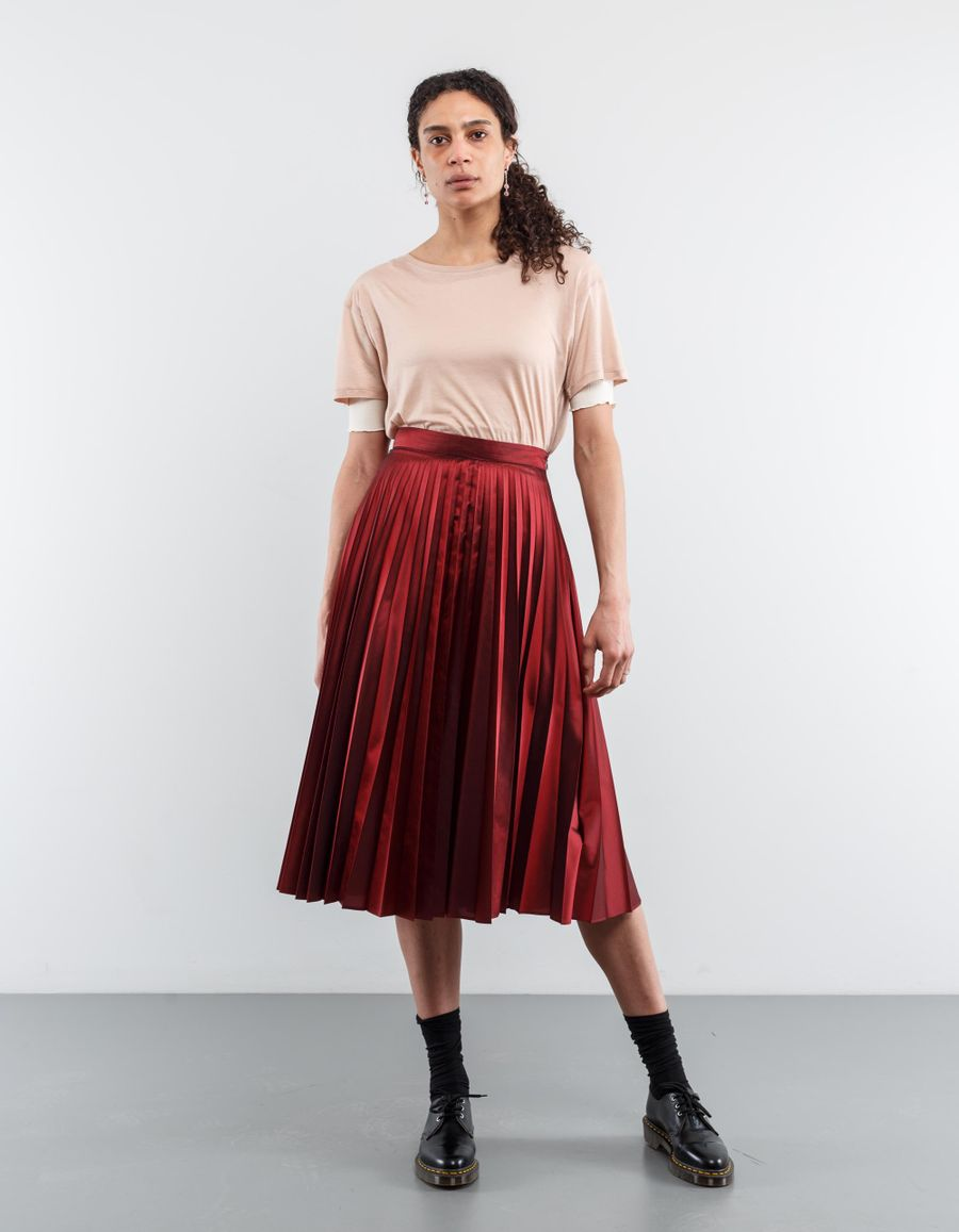 Margaret Howell Sunray Pleat Skirt