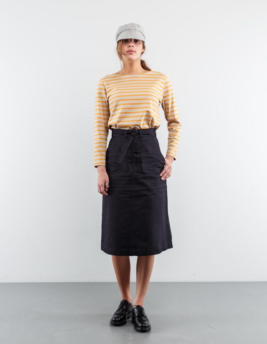 Margaret Howell Midi Tie Waist Skirt
