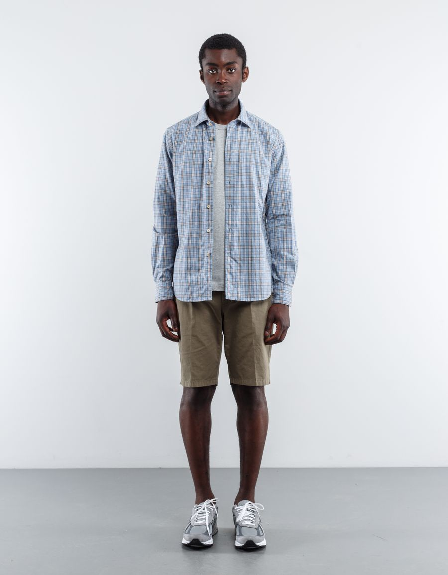Nitty Gritty Washed Check Pinpoint Shirt