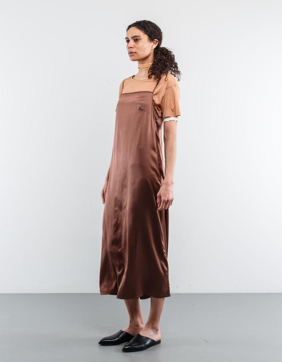 Base Range Yogi Satin Silk Dress