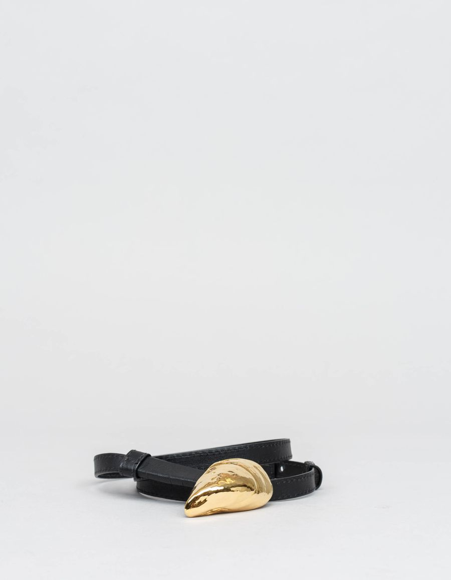 Lizzie Fortunato Shell Leather Belt