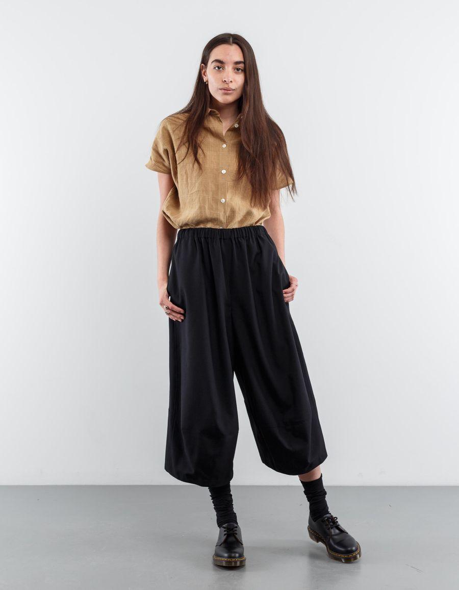 Comme des Garçons Comme des Garçons Tropical Wool Cropped Trouser