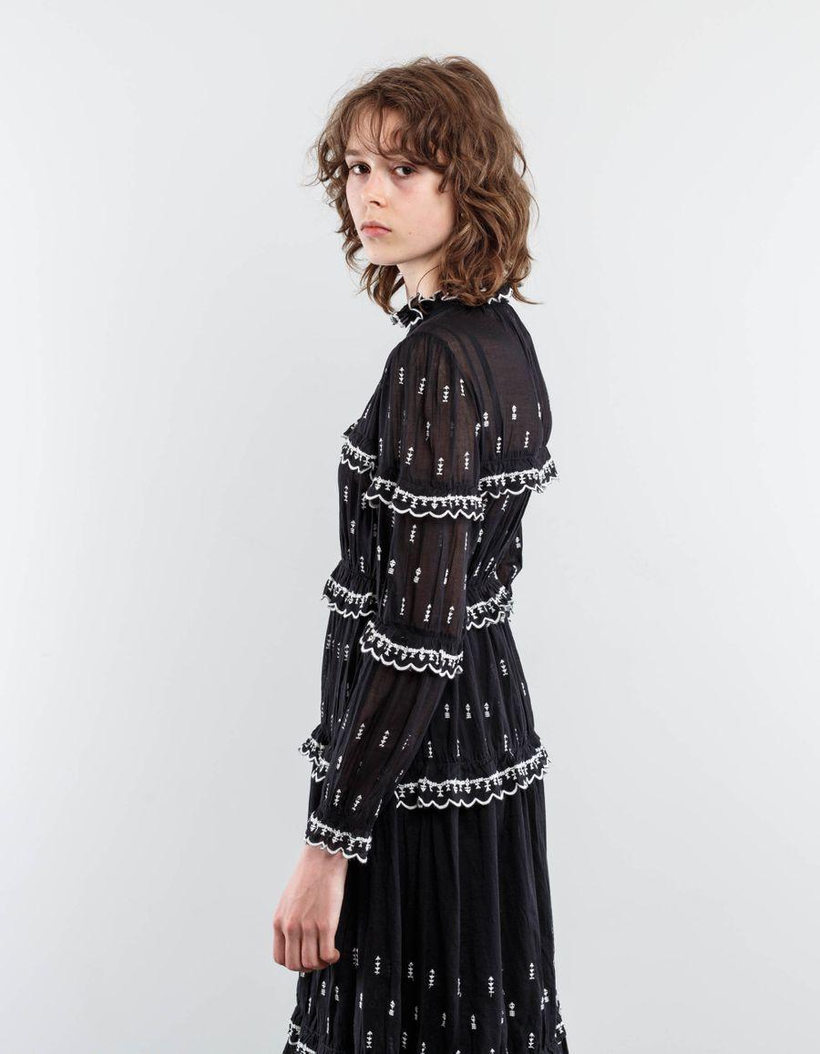 Isabel Marant Étoile - Lyukio Frill Tiered Dress