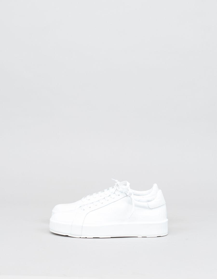 Jil Sander Eleonor Leather Sneaker