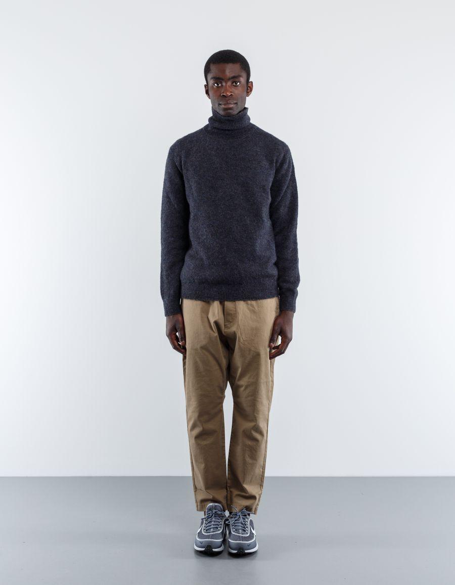 Massimo Alba Claude Alpaca Rollneck Knit