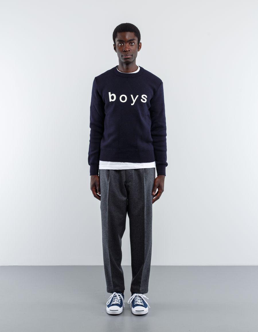 Comme des Garçons SHIRT Knitted BOYS Logo Knit