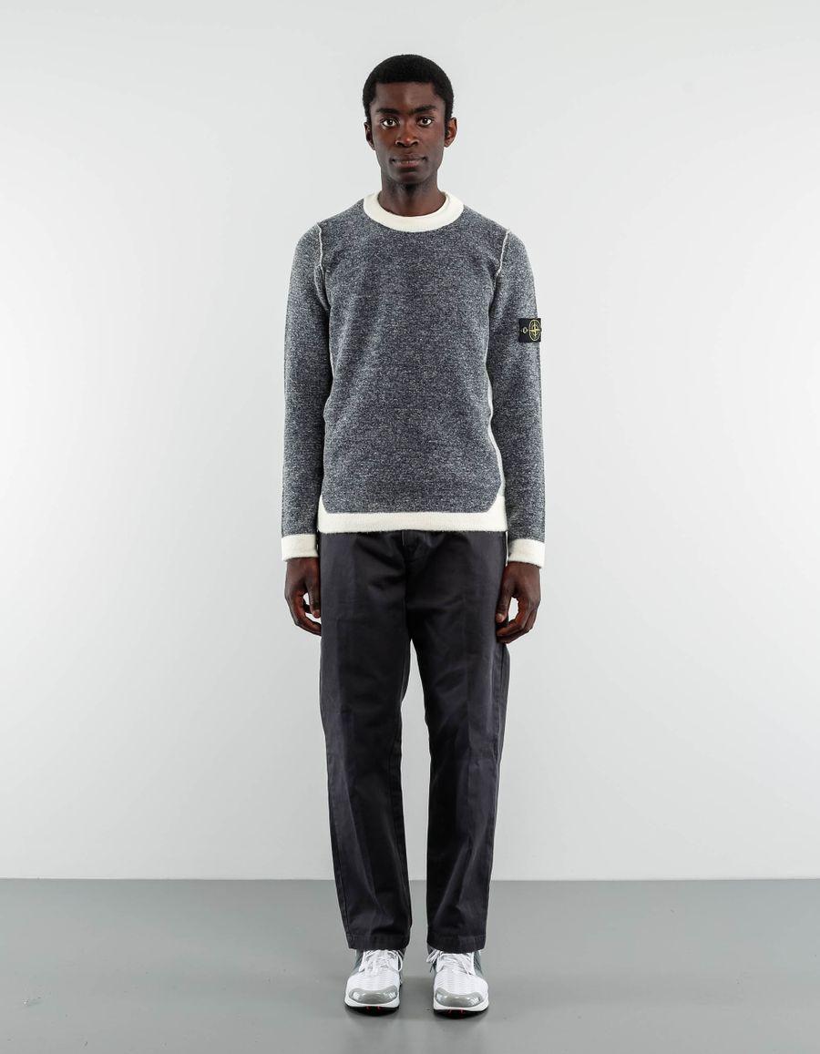 Stone Island 6715512B1  - Gauzed Wool Melange Knit