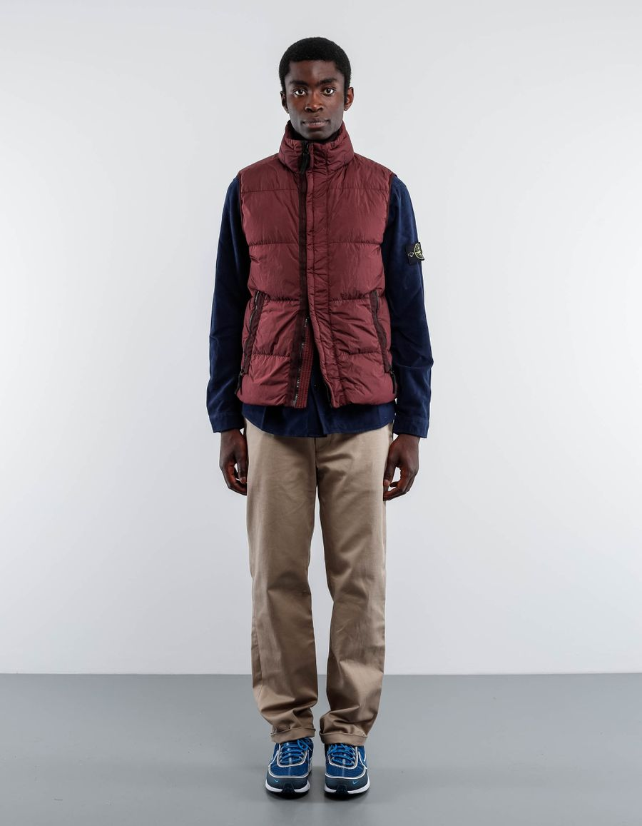Stone Island 6715G0223 - GD Crinkle Reps Down Vest