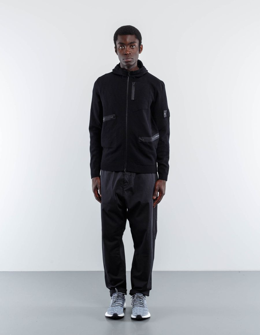 Stone Island Shadow Project Multipocket Knit Hoodie