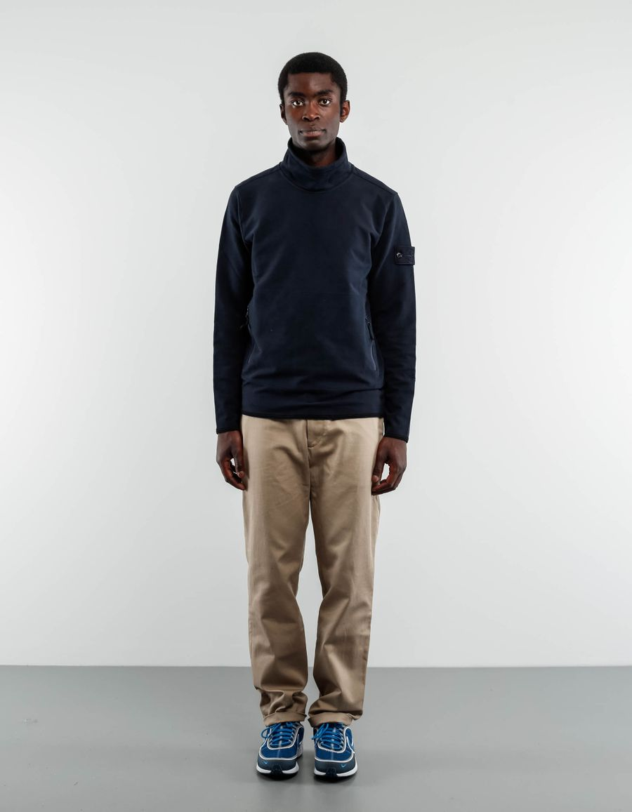 Stone Island 671561840 - Ghost Smock Neck Sweater