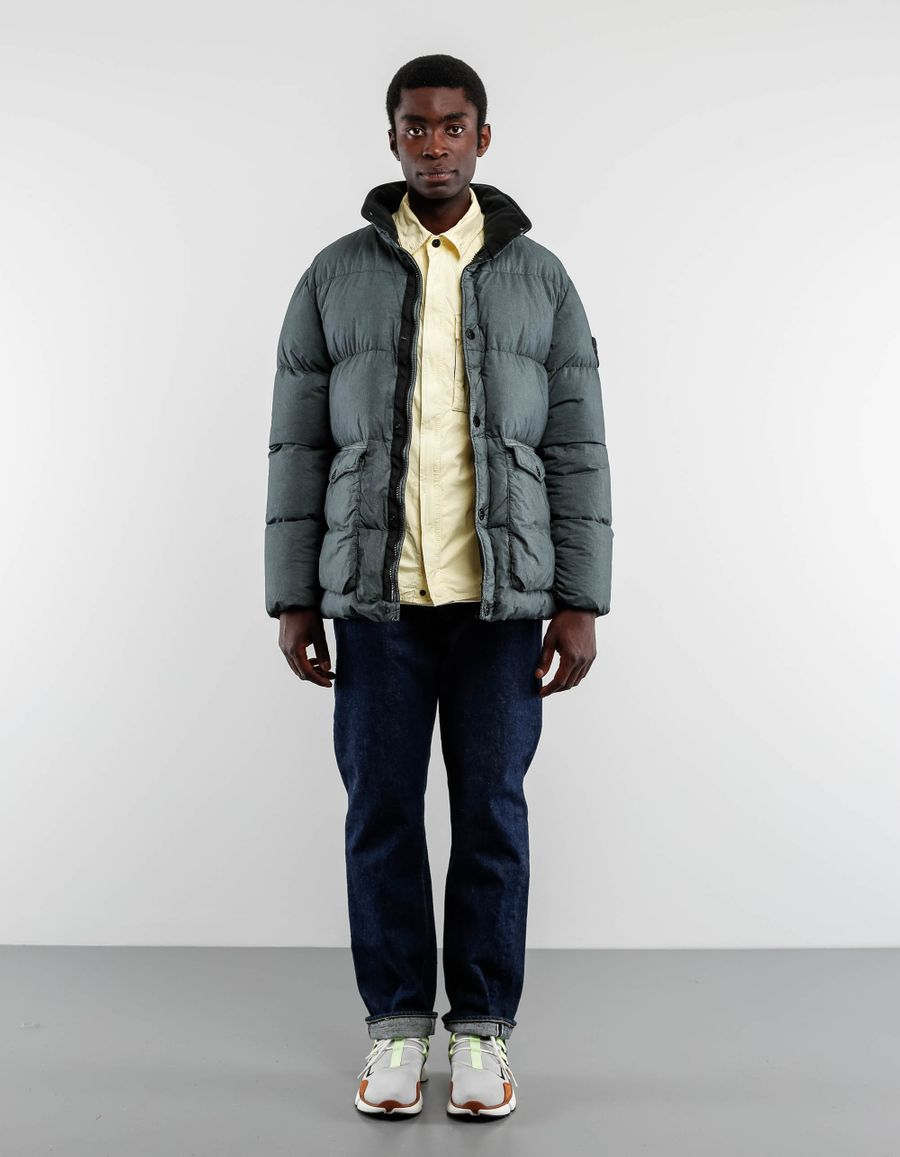 Stone Island 671543335 - Resin Poplin Down Jacket