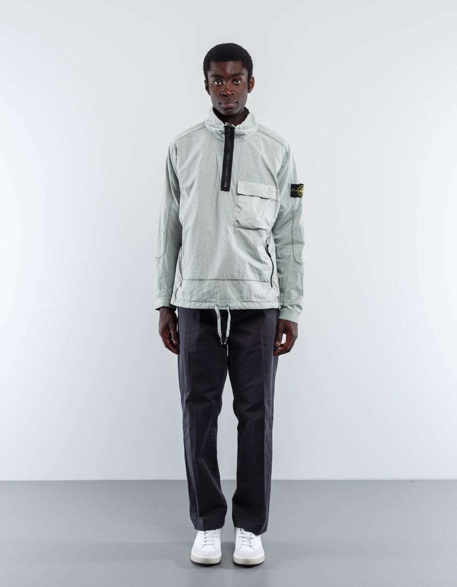 Stone Island House Check Pullover Smock