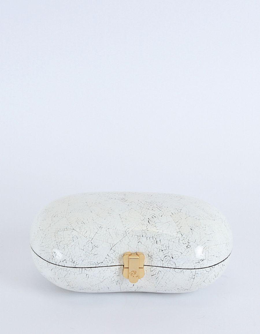 Rocio - Ramesses Clutch White Shell
