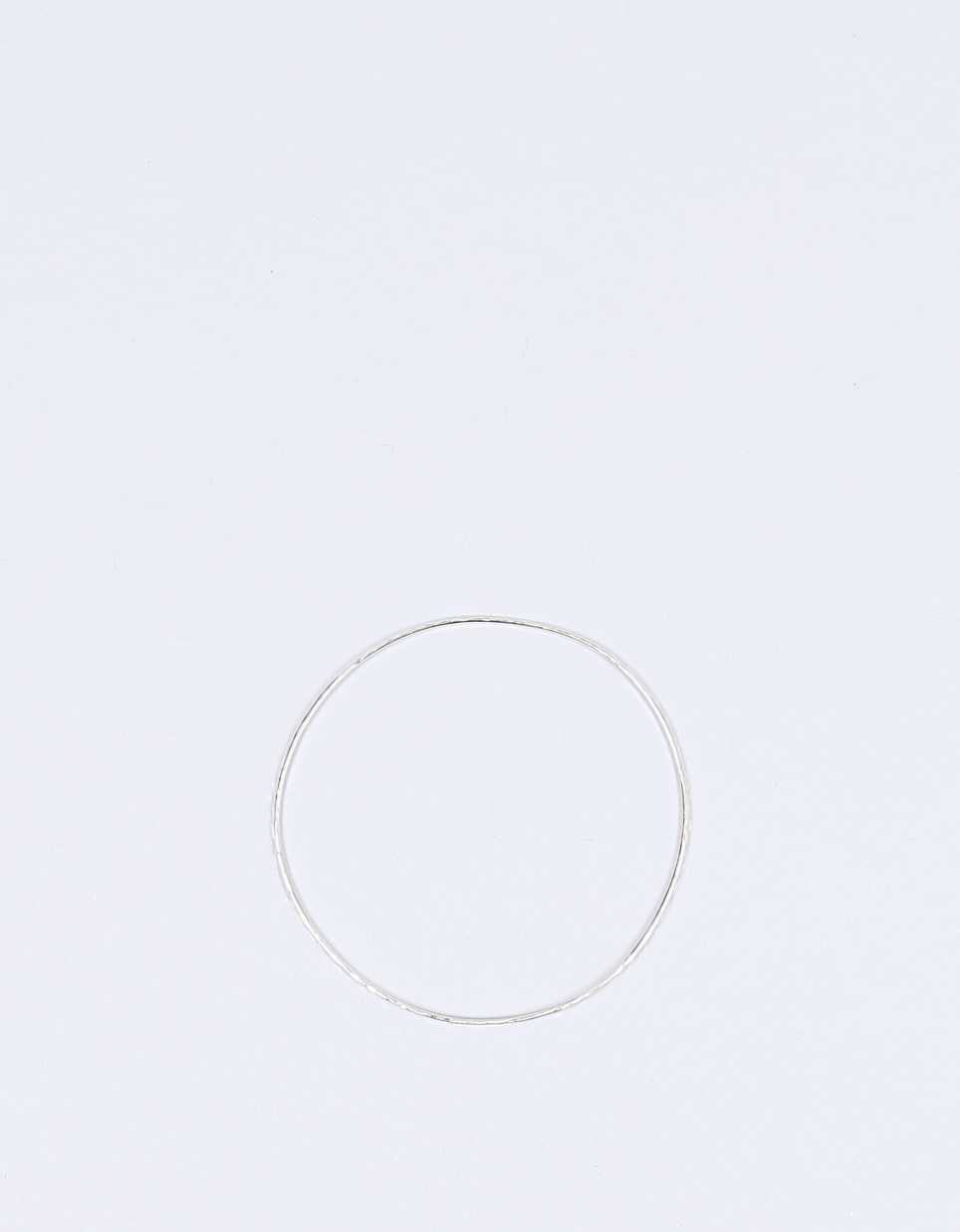 Laura Lee Fine Hammered Bangle 9ct white
